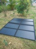 bloco Foldable do saco do carregador da solução da eletricidade do sistema da fonte de alimentação solar do exército 160W