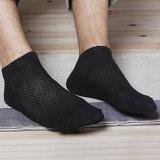 I Mens & le donne Plain i calzini molli sottili della caviglia del cotone del taglio di livello basso di sport di colore