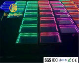 Abgrund-Spiegel LED Dance Floor des Hartglas-3D für Hochzeitsfest-Stadium