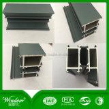 Indicador de alumínio do Casement da qualidade superior com revestimento de madeira