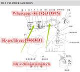 Cilindro Hsgf-140*80*502-952p 4120001083 di inclinazione dei pezzi di ricambio del caricatore della rotella di Sdlg LG936L