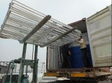 овал 1.8m x 2.1m панели скотного двора труб 115mm x 42mm для сбывания
