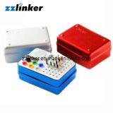 歯科内部Box/Dentalの消毒のBurs Box/120holes Autoclavable Bur Box/OEMの消毒Burのホールダー