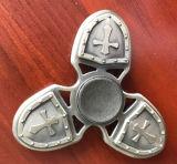 Hilandero de la mano del dedo del metal de la aleación del cruzado del juguete del EDC