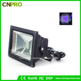 20W IP65 UV LED Flood Light para curar Blacklight Fishing