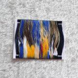 Zona di marca del tessuto del contrassegno tessuta donna di marca di colori del lusso 9 di alta qualità