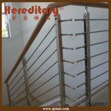 Balaustrada interna da barra para a escada que cerc o material do aço inoxidável (SJ-X1016)
