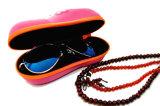 Cassa ottica degli occhiali della casella della cassa dello spettacolo della cassa degli occhiali di EVA di qualità per i vetri ottici di usura ottica degli occhiali da sole di modo (HX131)