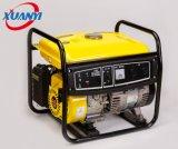 generador de la gasolina de la buena potencia de cobre de 2kw el 100% pequeño con el silenciador de la motocicleta