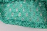 女性Coverup不足分は100%Polyesterかぎ針編みファブリックの作る