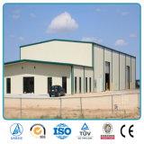 Modèles industriels de cloche de construction d'entrepôt de structure métallique de coût bas préfabriqué