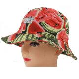 Cappello largo di protezione di Sun del bordo di stampa su ordinazione dell'anguria