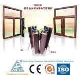 China Venda Quente Perfil de liga de alumínio para o Vidro da porta de alumínio