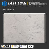 Quartzo de pedra artificial da veia grande do mármore da laje para bancadas
