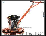 Máquina da construção máquina concreta Gyp-430 do Trowel da gasolina poderosa de 30 polegadas