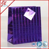 Мешки 2015 лазера пленки Hologram бумажные с ручкой сатинировки и биркой Hang