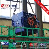 Máquina de mineração do britador de rolos triplo britador de pedra com alta qualidade