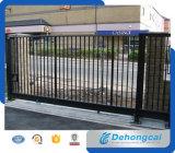 Porte d'acier coulissante à sécurité automatique avec revêtement en poudre