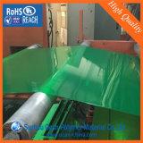 Strato rigido verde del PVC colorato Matt dell'acetato per le caselle pieganti