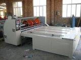 Máquina acanalada del balanceo y el rebanar y el rajar de la cartulina en China