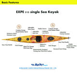 Море Kayak, Touring Sit в Kayak, Ocean Kayak (EXPE 16.9)