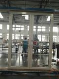 Высокое качество индивидуального алюминиевых французский двойное остекление окон и дверей