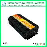 Inversor modificado da potência de onda do seno de DC48V 1500W AC220/240V micro (QW-M1500)