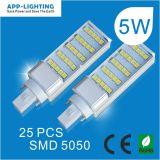High Lumen 5W SMD LED PLC Lampe G24 G23 Gx23 E27