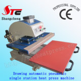 세륨 Certificate Drawing Pneumatic Heat Press Machine 40*40cm Automatic T-Shirt Heat Transfer Machine Single Station Heat Transfer Machine Stc Qd08