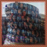 Größe 100/90-17tl, 110/90-17tl, 110/80-18tl schlauchlos, Reifen des ISO-Nylonmotorrad-6pr
