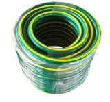 Belüftung-Faser-umsponnener Schlauch Belüftung-flexibler Wasser-Garten-Schlauch