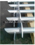 Basis-Systems-schraubenartiger Stapel-Schneckenschrauben-Stapel