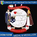 熱い販売の記念品の金属メダル