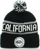 Custom Patch broderie Jacquard Beanie Hat