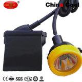 코드가 없는 모자 램프를 채광하는 지하 안전 폭발 방지 LED