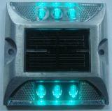 Lampadaire solaire à LED avec bordure latérale de deux côtés Éclairage