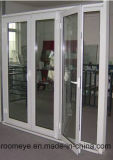 Zhejiang 공장 가격 이중 유리로 끼워진 알루미늄 여닫이 창 문