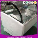 Ce portable Crtificated Popsicle vitrine de présentation de la crème glacée congélateur d'affichage