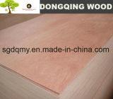 Madera contrachapada de 3mm, madera contrachapada de madera dura roja, madera contrachapada de muebles