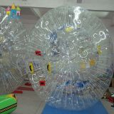 Sfera Bumper Shinning gonfiabile di Zorb del corpo della sfera dell'acqua della sfera dell'erba di Finego