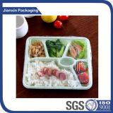 Bandeja plástica disponible del alimento para el empaquetado de los mariscos
