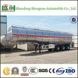 De beste Verkopende Aanhangwagen van de Vrachtwagen van de Tanker van de Legering van het Aluminium van de Ruwe olie in Afrika