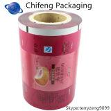 Печатание качества еды прокатало прокатанную Pet/LDPE пленку крена
