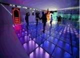 Étage de danse d'abîme de miroir de DEL 3D pour la barre de disco d'usager du DJ de mariage