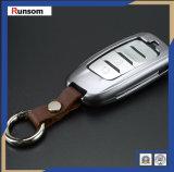 Sostenedor dominante de Keychain del coche del clave de la cubierta del coche alejado de aluminio del caso