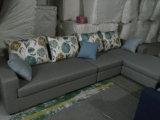 Canapé en cuir du Canada, canapé sectionnel, meubles de salon (A07)