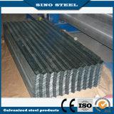 Material para techos galvanizado cubierto cinc de aluminio de la hoja del hierro de JIS G3302