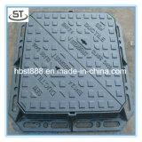 Tampas de câmara de visita triangulares Lockable do ferro de molde de En124 D400