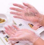 Wegwerf-PET Plastik2pcs gefaltete Handschuhe in den Paaren