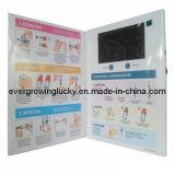 brochure 4.3inch visuelle avec l'écran LCD
